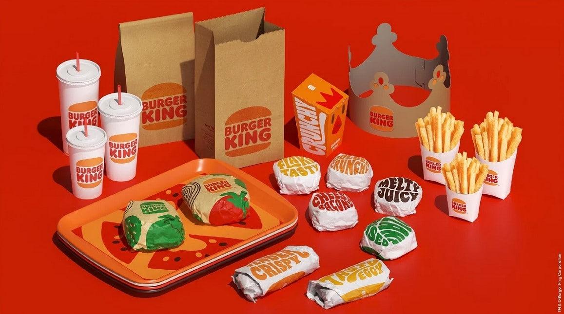Burger Kin ürünlerinde logo değişikliği