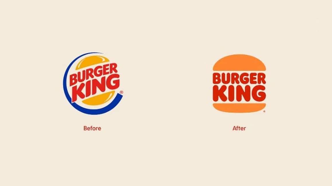 Burger King yeni logosu